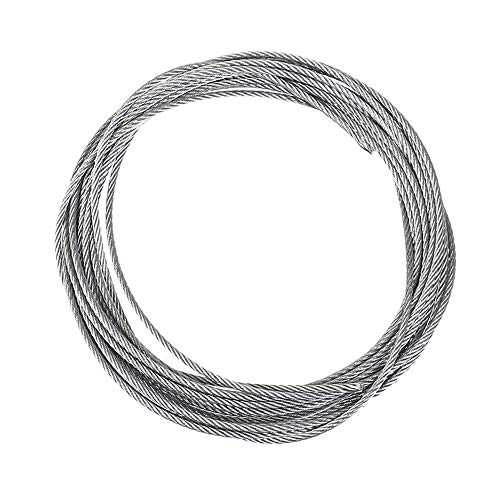 Pack of 10 Precision Tolerance Spring Temper 304 Stainless Steel Wire Mill ASTM A313 0.022 Diameter 60 Length Unpolished Finish
