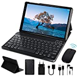 FACETEL Tablette Tactile 10 Pouces Android 9.0 Certifié par Google GMS, Tablettes avec 4 Go RAM 64 Go ROM Support TF Extension (2 Go - 128 Go) et 5.0 8.0 MP Caméra WiFi | Bluetooth | GPS | OTG - Gris