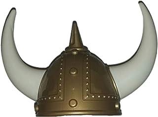 LDA Obtener Novedad Casco Vikingo Pirata Disfraces de Halloween Sombrero Fiesta de Fiesta Sombrero extraño Sombrero de Cuerno de Gladiador Vikingo