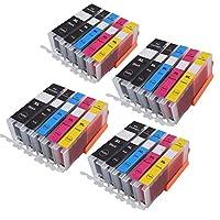 キヤノン470 471 PGI-470 CLI-471互換インクカートリッジ用CANON PIXMA MG6840 MG5740 MG 6840 MG 5740 TS5040 TS6040プリンター (色 : 4PGBK 4BK 4C 4M 4Y)
