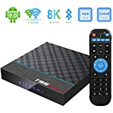 Android Box, TUREWELL T95 Max+ Android 9.0 TV Box Amlogic S905X3 Quad-core cortex-A55