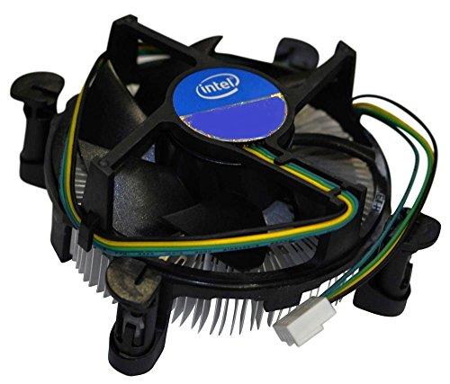 Intel E97379-001 Core i3/i5/i7 Socket 1150/1155/1156 4-Pin Connector CPU Cooler With Aluminum Heatsink and 3.5-Inch Fan For Desktop PC Computer