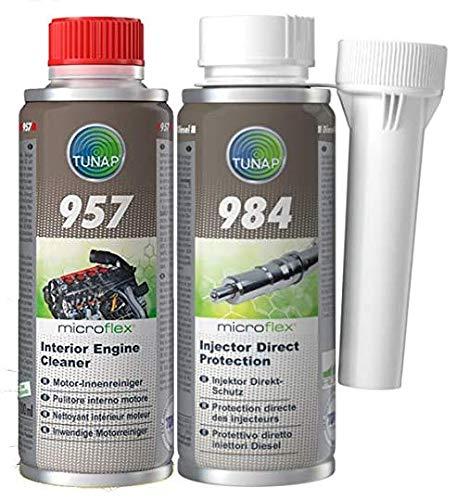 4. Tunap - Kit de limpieza motor e inyectores diésel Tunap 984 + Tunap 157