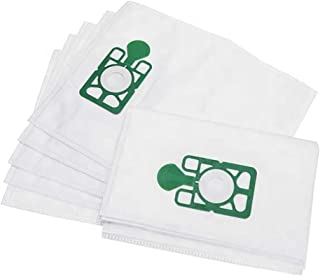 FindASpare Vacuum Cleaner Microfibre Poly Dust Bags for Henry Numatic Hetty Basil James (Pack of 10)