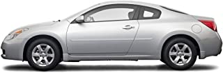 Dawn Enterprises FE-ALT08-2DR Finished End Body Side Molding Compatible with Nissan Altima - Winter Frost Pearl (QX3)