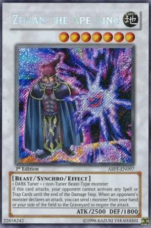 Yu-Gi-Oh! - Zeman the Ape King (ABPF-EN097) - Absolute Powerforce - Unlimited Edition - Secret Rare by Yu-Gi-Oh!