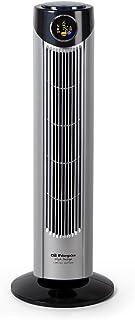 Orbegozo TWM 1010 - Ventilador de torre, 3 velocidades, mando a distancia, 3 modos de ventilación, temporizador, display digital, 45 W