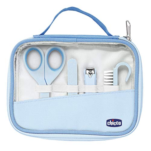 Chicco 00010019000000 Igiene e Benessere Set Manicure Bambino, Blu