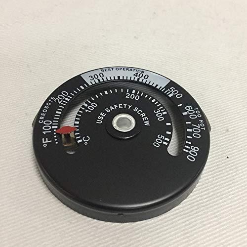 kally Holzofen Hochtemperatur-Kamin Regler Schornstein Mechaniker-Thermometer sichere Abgastemperatur