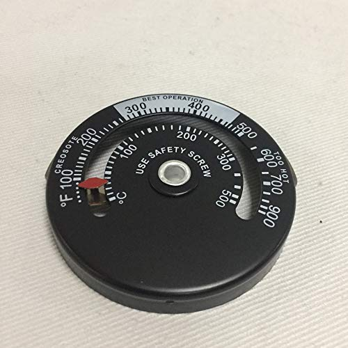 #N/V Holzofen Hochtemperatur-Kamin Regler Schornstein Mechaniker-Thermometer sichere Abgastemperatur