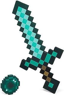 ThinkGeek Minecraft Foam Diamond Sword Ender Pearl Adventure Kit - Officially-Licensed Minecraft Merchandise