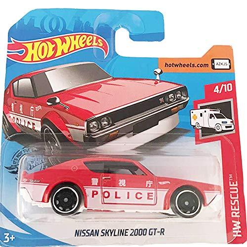 Hot Wheels Nissan Skyline 2000 GT-R HW Rescue 4/10 2019 ( 160/250) Short Card