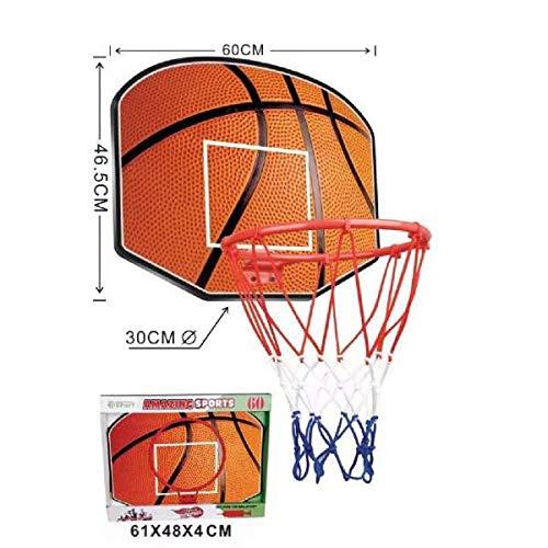 Amazing sports Tablero con Canasta de Baloncesto para Niños, Aro de 30cm,...