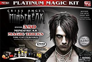Criss Angel Platinum Magic Kit, Black