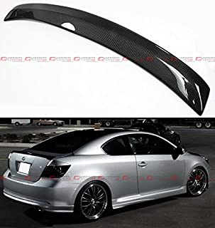 Cuztom Tuning Fits for 2004-2010 Scion tC JDM RS Style Carbon Fiber Rear Trunk Lid Spoiler Wing