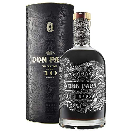 Don Papa Rum 10 Years Old 43% Vol. 0,7l in Giftbox