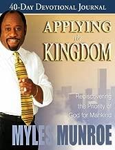 Applying the Kingdom Study Guide by Myles Munroe (June 01,2008)