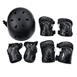Weanas Kids Youth Sports Protective Gear Set, Safety Pad Safeguard (Knee Elbow Wrist)