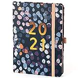 (auf Englisch) Boxclever Press Perfect Year A5 Kalender 2021 mit Seitenreitern. Wochenplaner von Jan.-Dez.'21. Schöner Terminplaner 2021 mit monatlichen Planungsseiten, Notizseiten, Listen und mehr