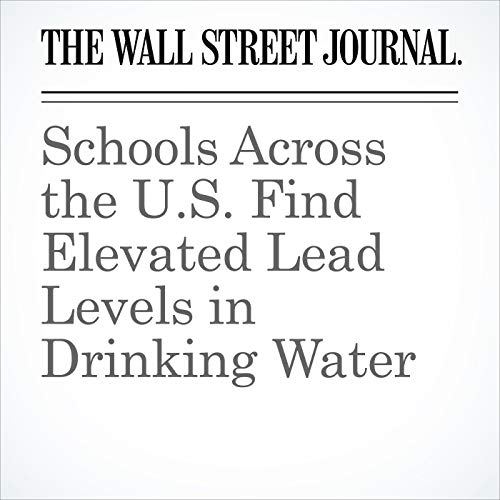 Schools Across the U.S. Find Elevated Lead Levels in Drinking Water copertina