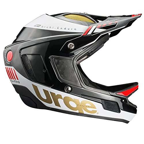 Urge he2560ekwr Casco de Bicicleta de montaña Unisex, Negro