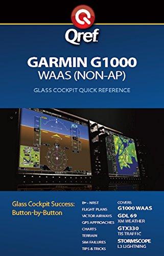 Garmin G1000 WAAS Qref Checklist (Qref Avionics Quick Reference) (English Edition)