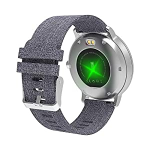 YoYoFit Smart Fitness Watch with Heart Rate Monitor, Waterproof Fitness Activity Tracker Step Counter with Music Player Control, Customized Face Look GPS Pedometer Watch for Women Men