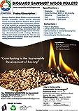 Sustainable Technologies | Biomass Sawdust Wood Pellets | 7.5 Kg