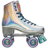 Impala Rollerskates Girl's Impala Quad Skate (Big Kid/Adult) Holographic 6 (US Men's 4, Women's 6) M