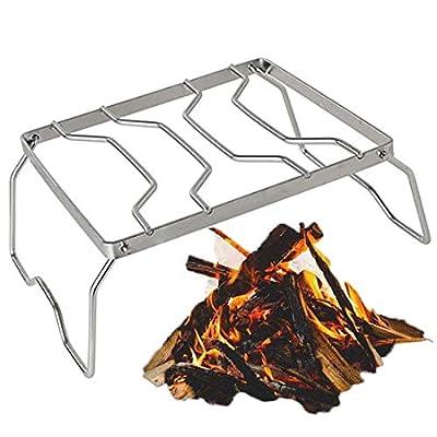 HonkTai Camping Grills, Portable Folding Campin...