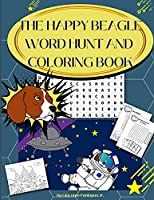 The Happy Beagle Word Hunt and Coloring Book