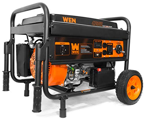 WEN 56475 4750-Watt Gasoline Powered Portable Generator