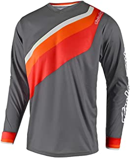Troy Lee Designs Men's Off-Road Motocross GP Prisma 2 Jersey (Gray, X-Large)
