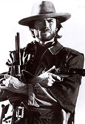 Clint Eastwood Cowboys Western Fridge Magnet Novelty Photo Fridge Magnet- Photo Novelty Fridge Magnet