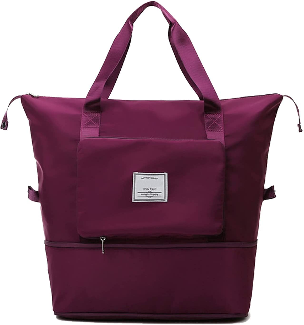 Large Capacity Max 64% OFF Spasm price Folding Travel Bag Portable Waterproo Lightweight