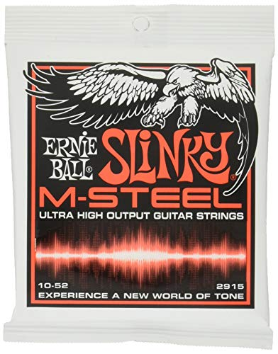 Ernie Ball M-Steel Skinny Top-Heavy Bottom Set, .010 - .052