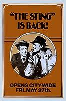 スティング-ポール・ニューマン-米国輸入映画ウォールポスター印刷-30CM X 43CMロバート・レッドフォード