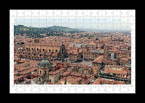 Lisa Loft Puzzle Style (premontato) Stampa da parete di Bologna