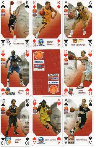 BBL Basketball Bundesliga - Action Skatspiel mit den spektakulären Fotos der besten Spieler 2009/ 2010 der BEKO BBL