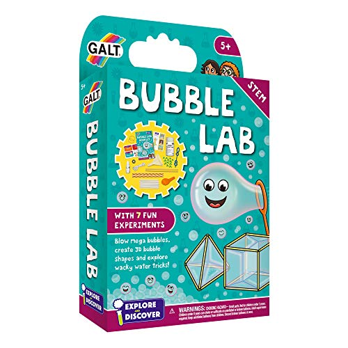 Galt Toys, Bubble Lab, Science Kit for Kids, Ages 5 Years Plus