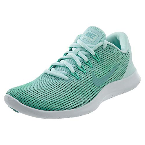 Nike Women's Flex Rn 2018 Running Shoe, 7.5, Green