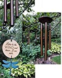 Memorial Wind Chimes in Memory PRIME Teal Patina Rush Shipping for Funeral Loss in Memory of Loved One Copper Listen to the Wind Memorial Garden Remembering a loved one