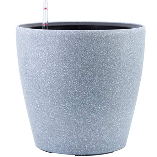 Jren-zk SZQ Bloempot, rond, plantenpot van hortensie, bloempot, binnenpot, kunststof bloempot