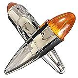 Discover winds 全長39cm!17LED 迫力のロケットマーカー 2本セット 24V なまずマーカー メッキパーツ トラック カスタム