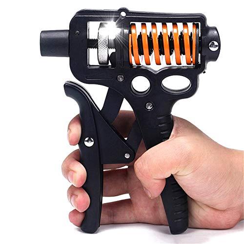 AFF 15-50KG Verstellbarer Handgreifer Trainingsgerät Finger Hand Power Grip Kraft Expander Home Gym für Anfänger Kinder Physiotherapie