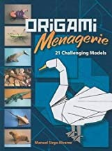 Origami Menagerie: 21 Challenging Models (Dover Origami Papercraft)