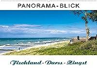 Panorama-Blick Fischland-Darss-Zingst (Wandkalender 2022 DIN A2 quer): Panorama-Ansichten von der Inselkette Fischland-Darss-Zingst (Monatskalender, 14 Seiten )
