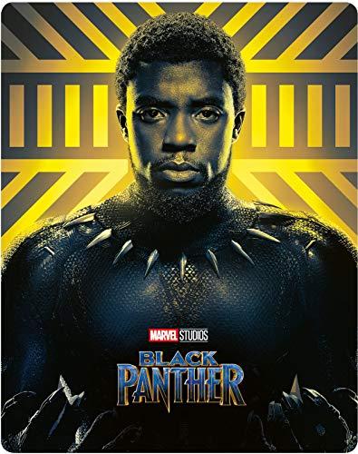Black Panther 4K Steelbook, Lenticular Steelbook, Zavvi exklusiv, OOP, mit deutschem Ton auf beiden Discs, Uncut, Regionfree
