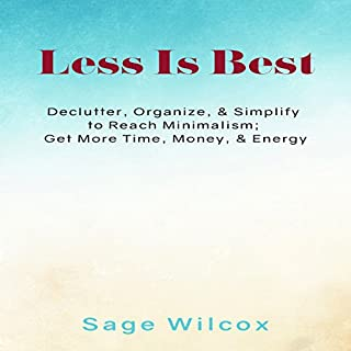 Less Is Best audiobook cover art