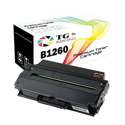 TG Imaging (1-Pack, Black) Compatible Toner Cartridge Replacement for Dell 1260 (331-7328) for Used in B1260dn B1265 B1265dnf Printer